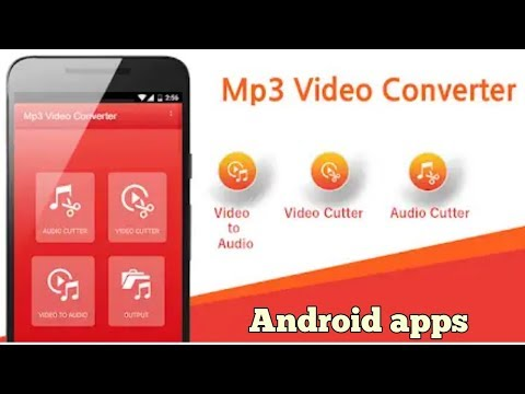 How Edit Audio And Make Ringtone || Video To Mp3 ||Android Apk