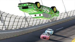 Chick Hicks Wrecks! | Forza Motorsport 6 | NASCAR Expansion