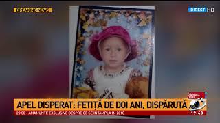 Fetita de doi ani disparuta in pădure