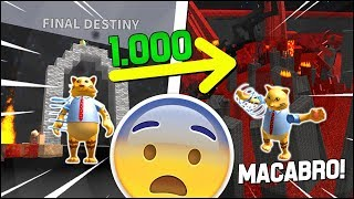 I RETURNED in the MACABRA PHASE of 1000 ROBUX of SPEED RUN 4 on ROBLOX! 😨