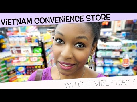 Vietnamese Convenience Store | Follow Me Around | charlycheer