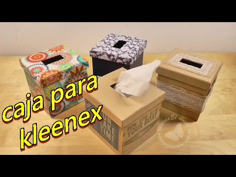 Boxes For Paper Handkerchiefs Kleenex Made With Cardboard