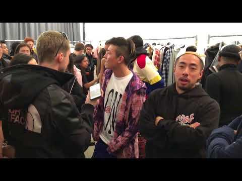 Edison CHEN at backstage CLOT