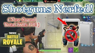 Jet Pack Vaulted, Shotguns Nerfed & Traps Re-Buffed - Fortnite Battle Royale (Squads) - Live Game