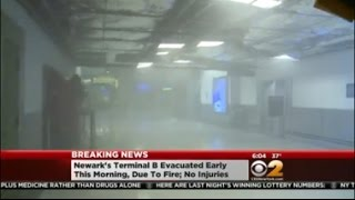 Fire At Newark Airport