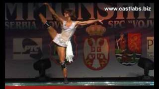 Бондарь Ольга - фитнес ЧЕ2010