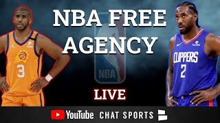 NBA Free Agency 2021 LIVE - Dwight Howard, Blake Griffin, Derrick Rose, Chris Paul, Kyle Lowry Trade