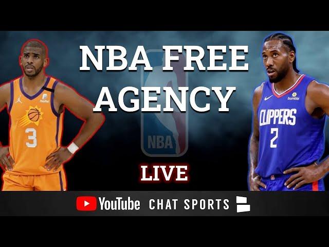 NBA Free Agency 2021 LIVE