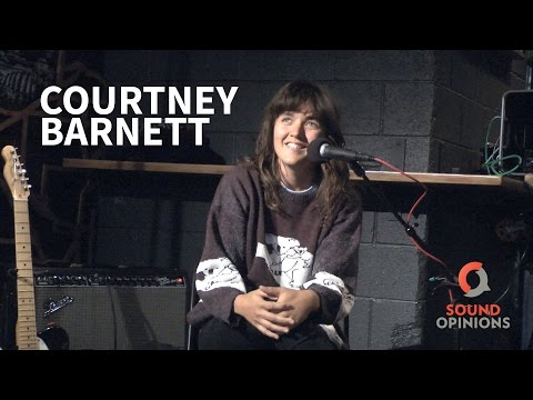 Courtney Barnett Interviewed on Sound Opinions