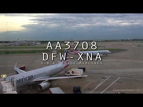 Trip Report│American Airlines│DFW-XNA │E-175 First Class Experience