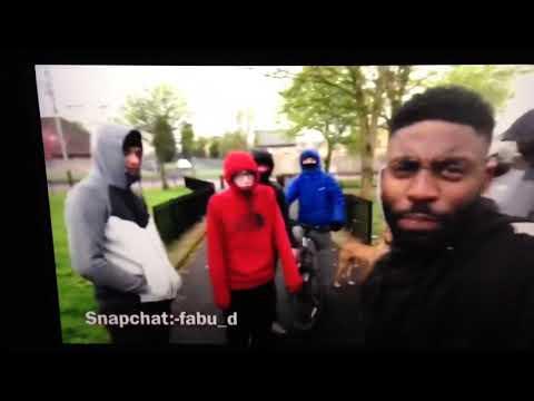 When a black Irish man scream up the ra in possile Glasgow