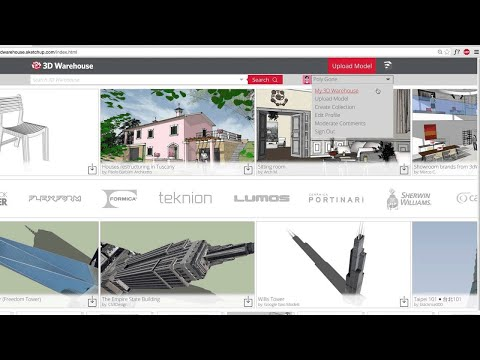 3D Warehouse: Collections