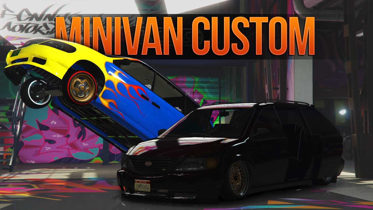 GTA 5 Minivan Customization