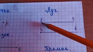 Начальные сведения из геометрии.