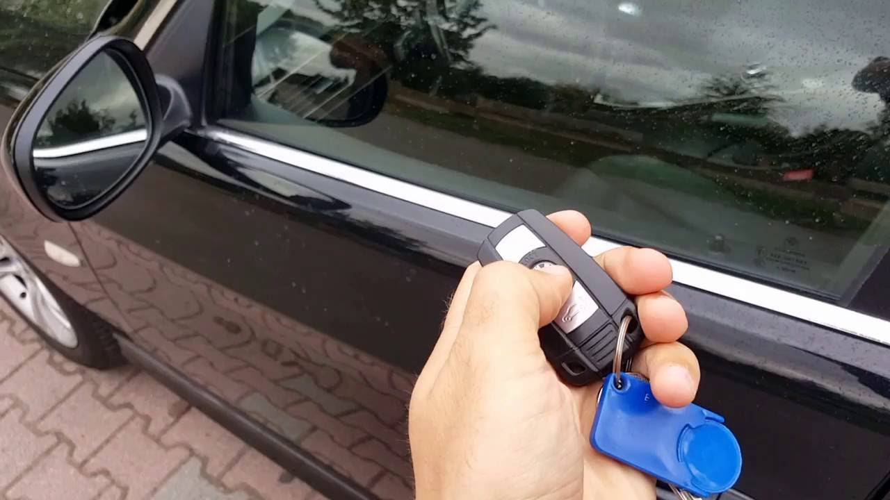 bmw e90 keyfob keyless entry go youtube. Black Bedroom Furniture Sets. Home Design Ideas