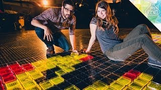 Giant Glow Stick Pixel Art - Hard Science
