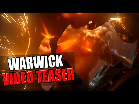 WARWICK VIDEO TEASER & POTENTIAL ABILITIES? | League of Legends