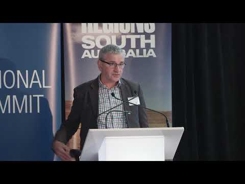 Professor Andrew Beer, Dean at University of South Australia Business School.