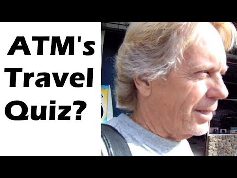 ATM Bank Machine Travel Quiz? by Andy Lee Graham #traveltips
