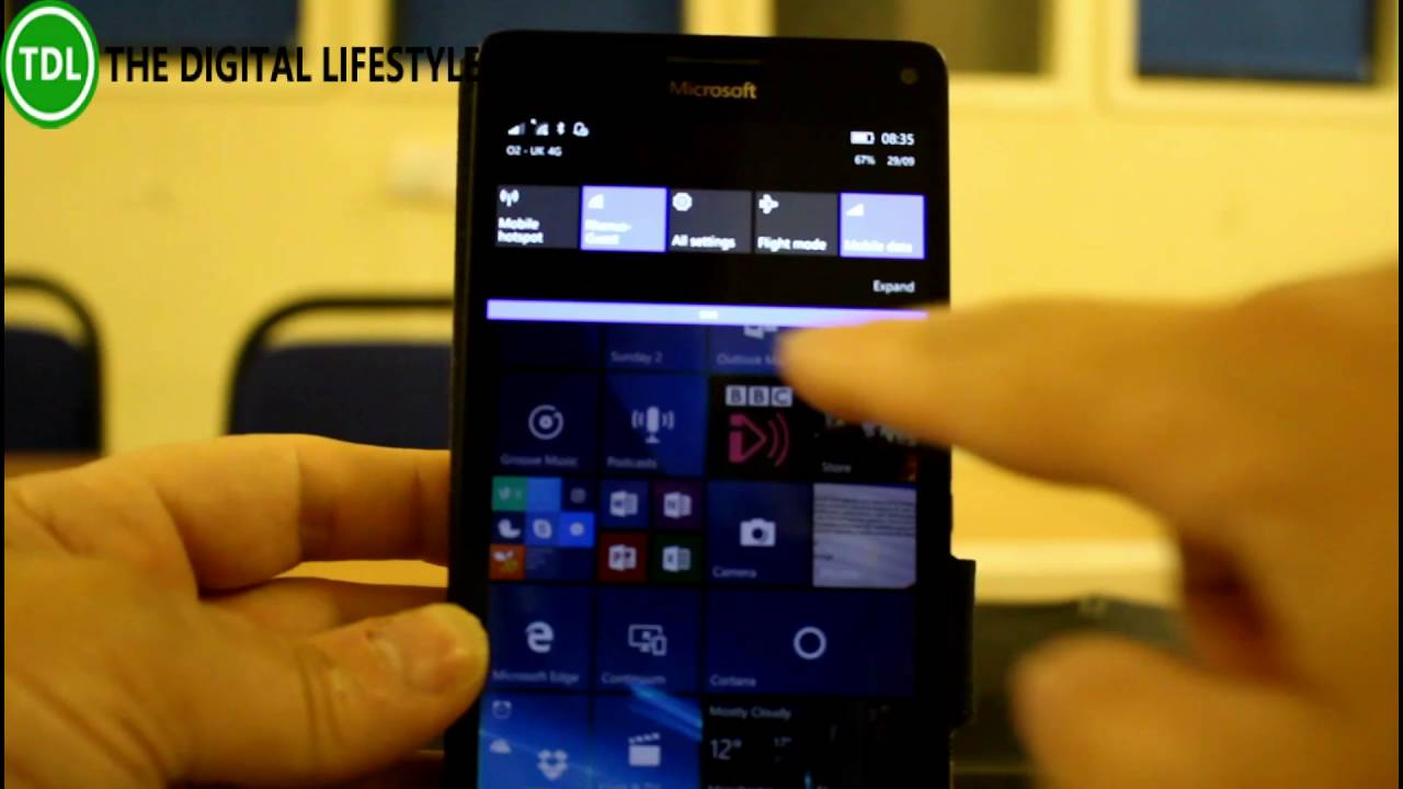 Lumia 640 windows 10 mobile experience on the web windows central - Hands On With Windows 10 Mobile Redstone 2 Build 14936