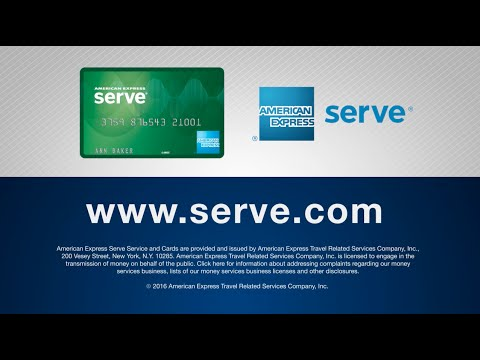 American Express Serve 174 Free Reloads Overview Youtube