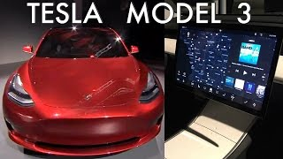 Tesla Model 3 Reveal: SPACESHIP CAR?
