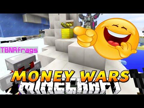 "Minecraft MONEY WARS! ""BETRAYAL "" w/Kenny, Preston, and Pete"