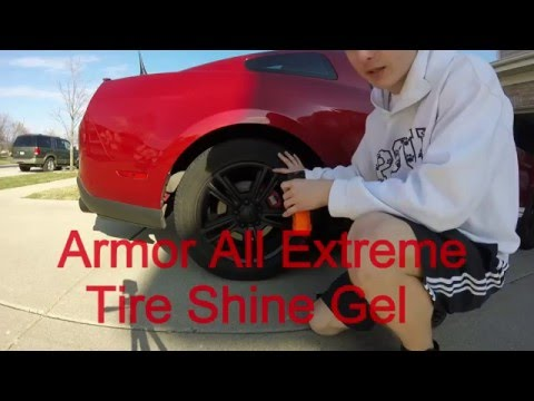 Armor All Extreme Tire Shine Gel Review and Durability