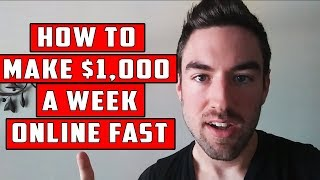 Best Way To Make Money Online Fast - Fastest And Easiest Way To Make Money Online