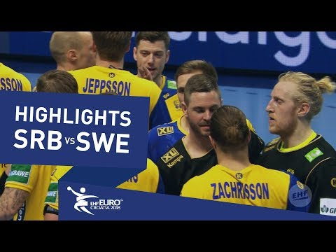 Highlights | Serbia vs Sweden | Men's EHF EURO 2018