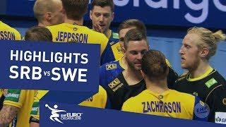 Highlights | Serbia vs Sweden | Men's EHF EURO 2018