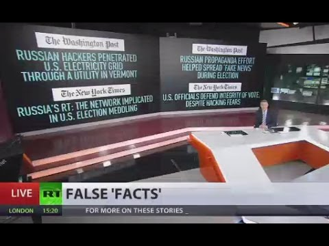Fake News Reality: NYT, Washington Post implicated in publishing false facts on Russia