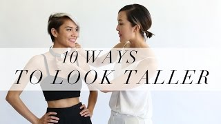 10 Ways To Look Taller Thumbnail