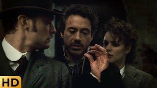 Холмс, Ватсон и Адлер ломают химическую машину. Шерлок Холмс.