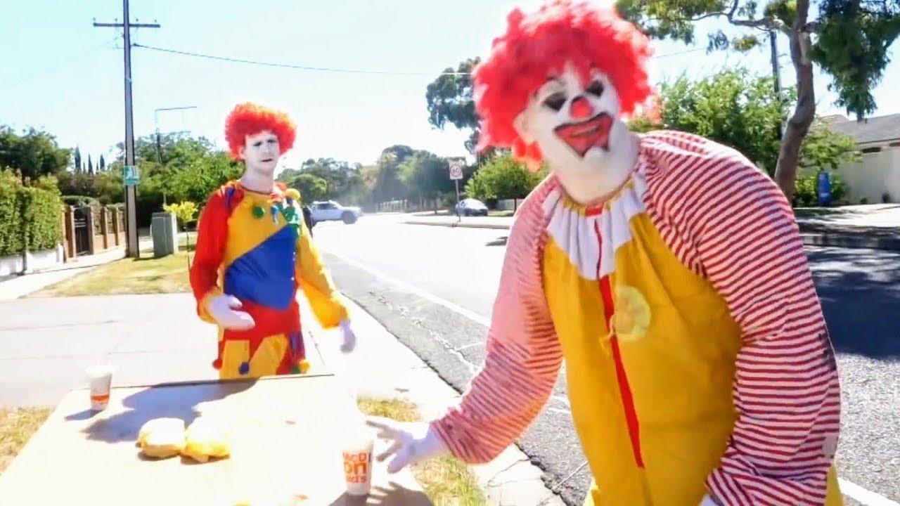 clowns make big mistake..