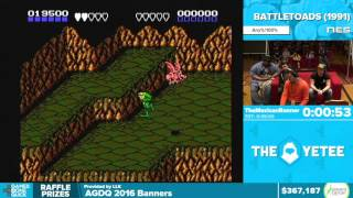 Battletoads by TheMexicanRunner in 38:41 - Awesome Games Done Quick 2016 - Part 79