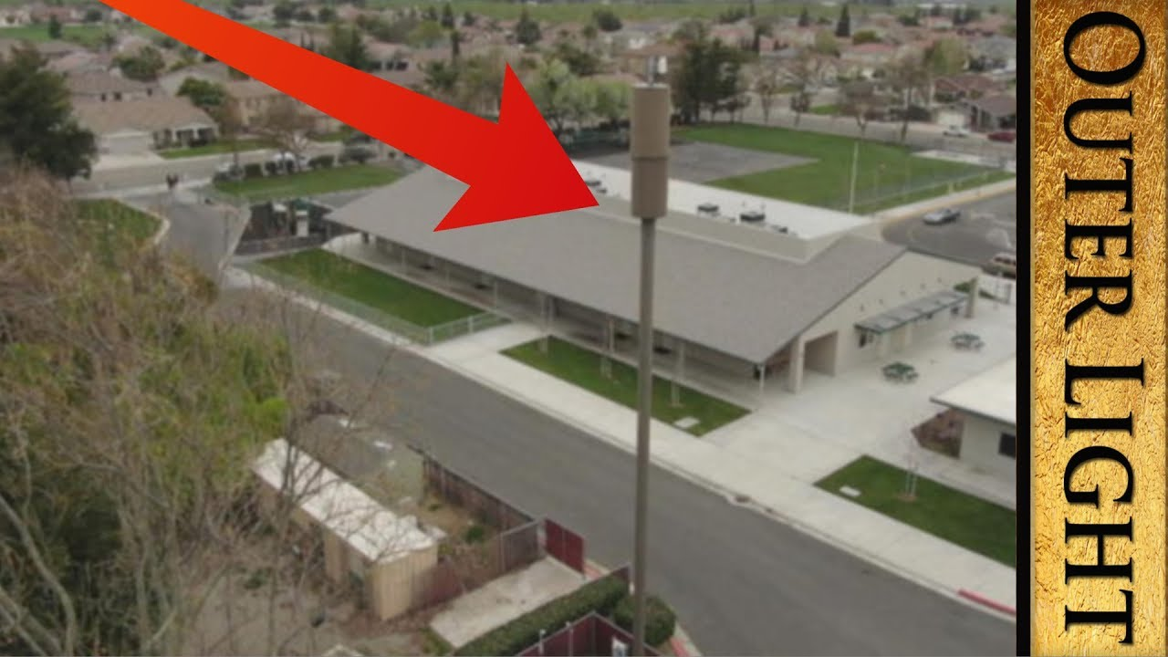 The Outer Light Mystery at elementary school in California, cell phone tower removed