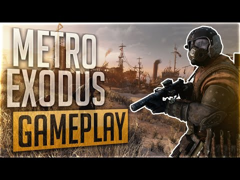 Metro Exodus Gameplay | First 16 Minutes of Metro Exodus | No commentary gameplay | on AMD RX 580