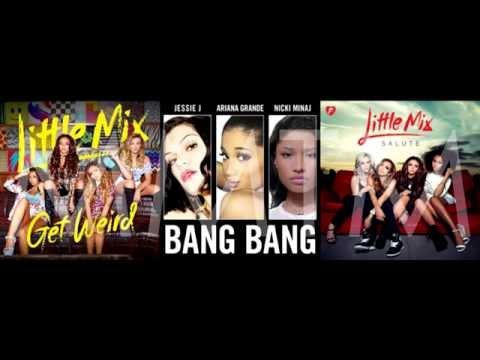 Grown Bangs | Little Mix, Jessie J, Ariana Grande & Nicki Minaj Mashup!