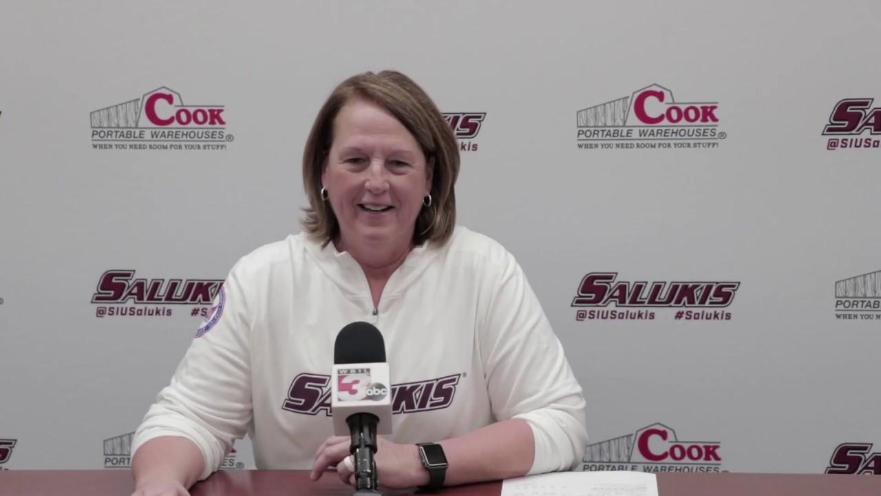 Saluki Women's Basketball Post Game Press Conference   1/4/2019