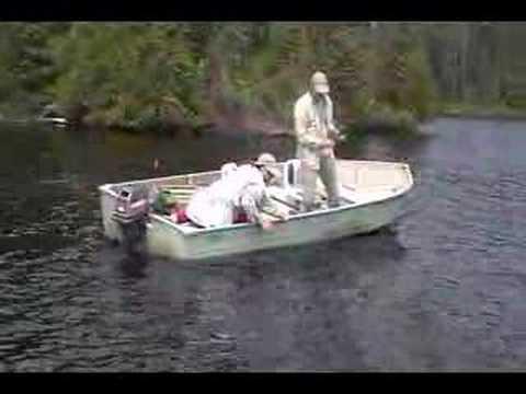 Fishing a remote portage lake youtube for Portage lakes fishing