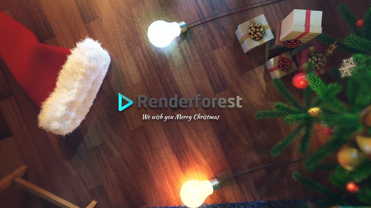 Fairy Christmas Lights Template Youtube