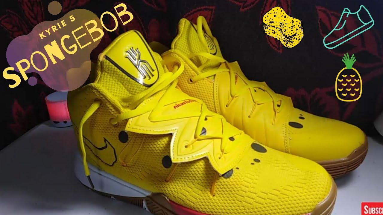 Shoe Review:Fake Nike Kyrie 5 Spongebob