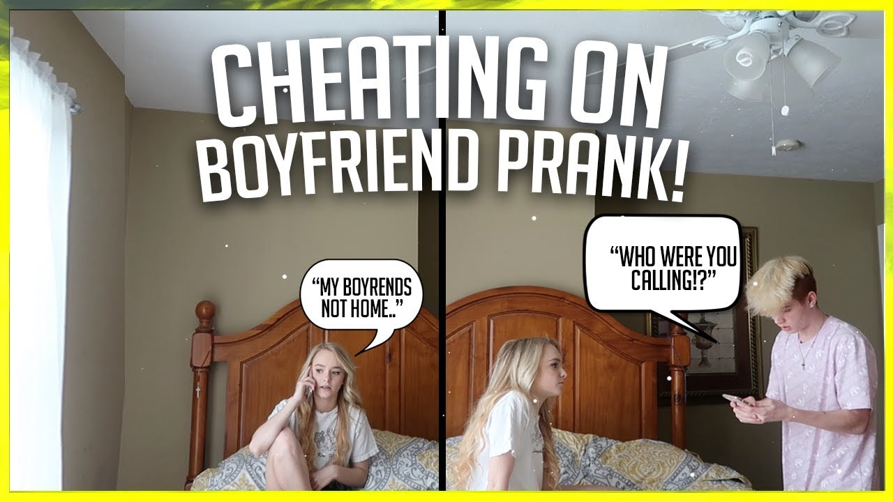 Cheating On My Boyfriend Prank He Got So Mad Ft Zoe Laverne And Cody Orlove