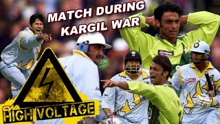 India vs Pakistan High Voltage Match during Kargil WAR at Manchester | World Cup 1999 Highlights |