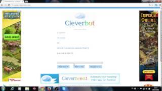 Cleverbot! Doamne ce fata sau baiat am intalnit D !