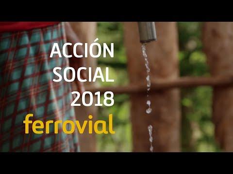 Ferrovial | Acción Social 2018