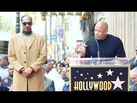 Louie Cruz - WATCH: Dr Dre's Speech For Snoop Dog Hollywood Walk of Fame