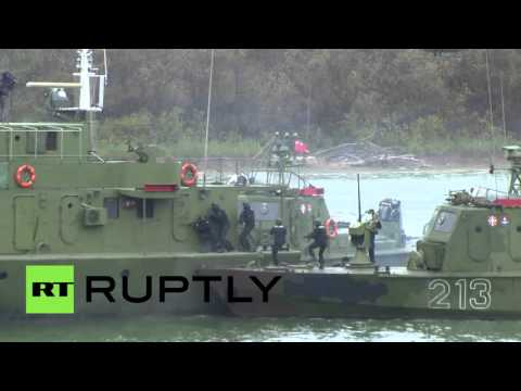 Military Ops: Serbian security forces hold anti-terror drills in Belgrade