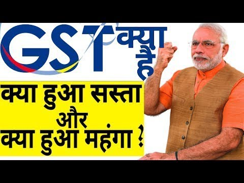 What is gst in Hindi ? Gst full form, Gst explained, Gst in India ...
